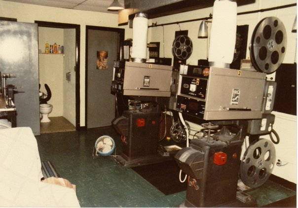 Sayrewoods Projection Room 1985