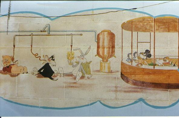 Brewery mural