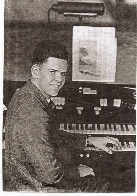 Walter Kimble, organist