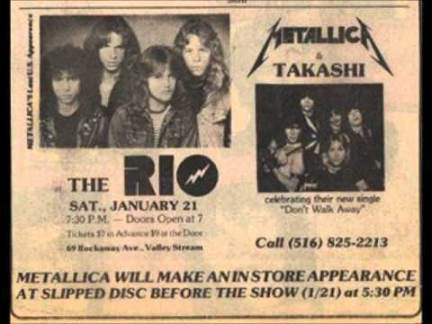 Metallica's ad when they played at the theater