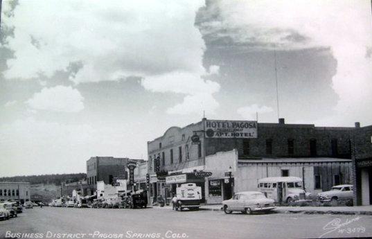 LIBERTY Theatre; Pagosa Springs, Colorado.