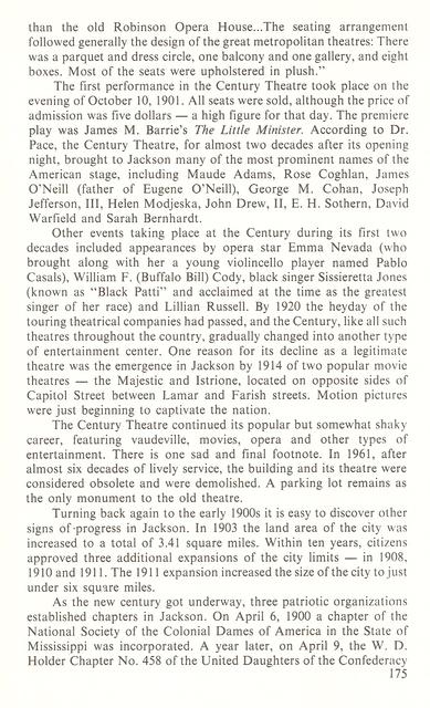 The Century Theatre history