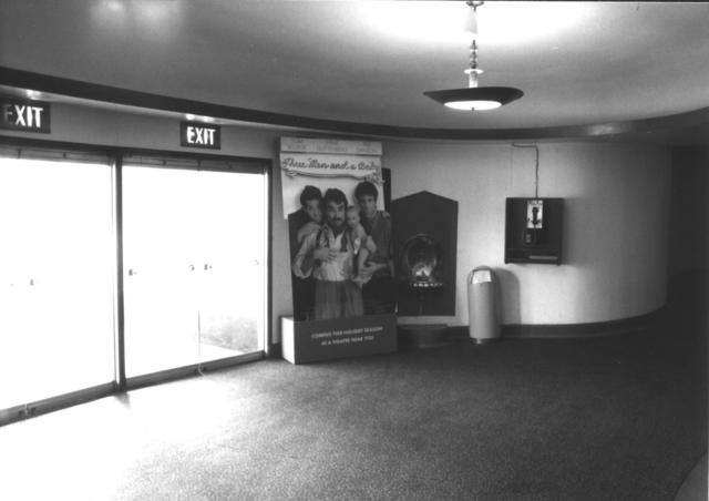 Lobby and payphone