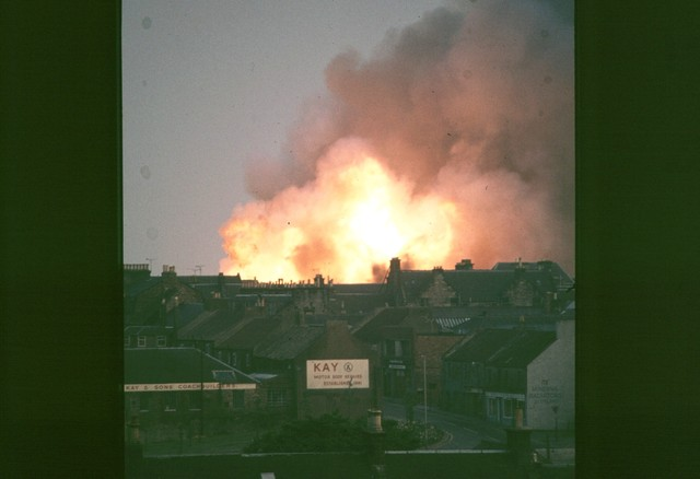 The fire that brought the end to The Regal Cinema in 1976