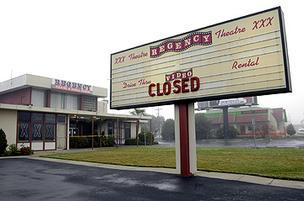 Regency Theater Closed