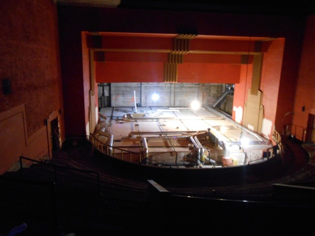Market Street Cinema view from balcony