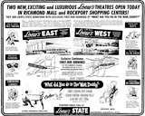 Loew's West - grand opening ad July 13, 1966