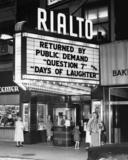RIALTO Theatre; Racine, Wisconsin.