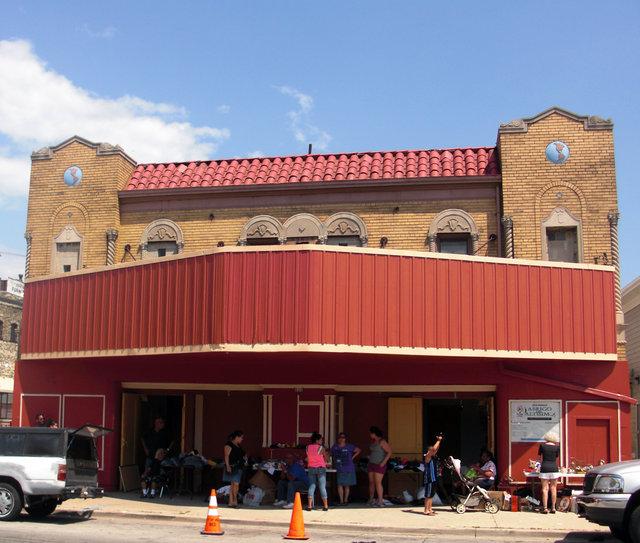 WORLD (ROYAL) Theatre; Milwaukee, Wiscconsin.