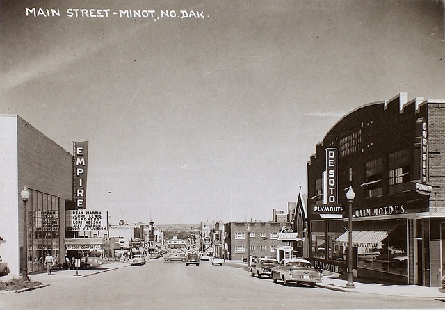 Empire Theater, Minot ND, about 1956.