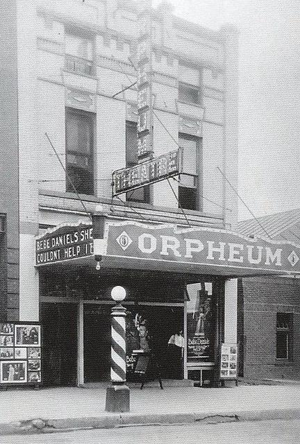 Orpheum Theatre, Minot ND. 11 N Main St.