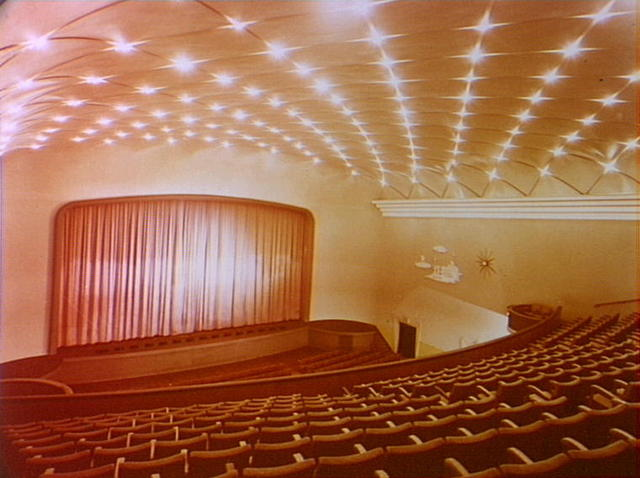 The star filled Regent auditorium