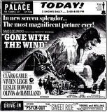 """Gone With The Wind"" Palace Theatre, Tampa, FL (Not 70mm)"