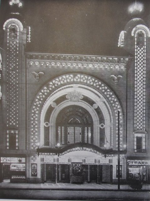 National Theater at night 1912