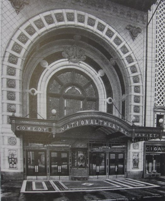National Theater 1912 close-up