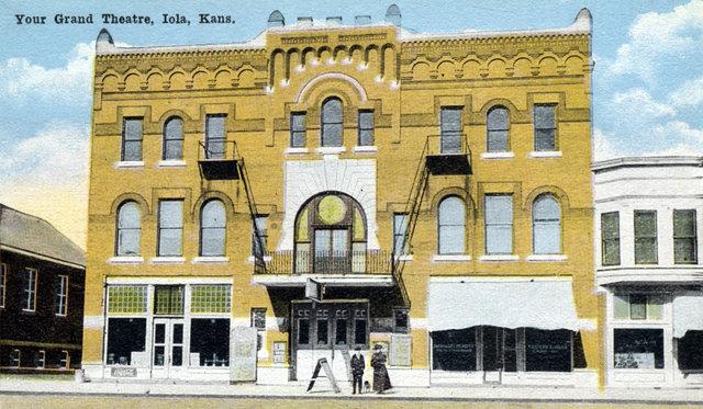 GRAND Theatre; Iola, Kansas.
