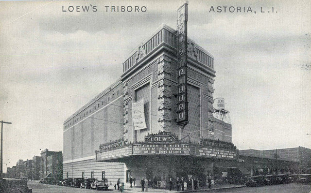 LOEW'S TRIBORO Theatre; Astoria, New York.