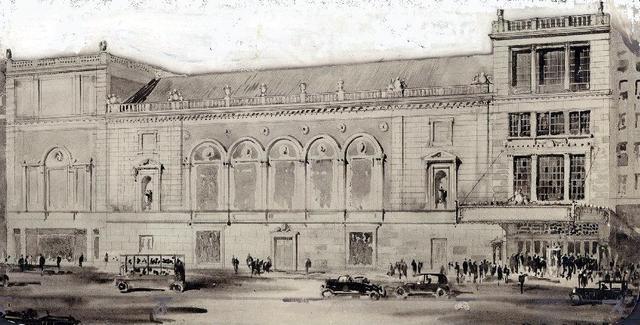 DOWNTOWN Theatre; Detroit, Michigan.