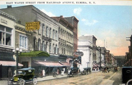 REGENT Theatre; Elmira, New York.