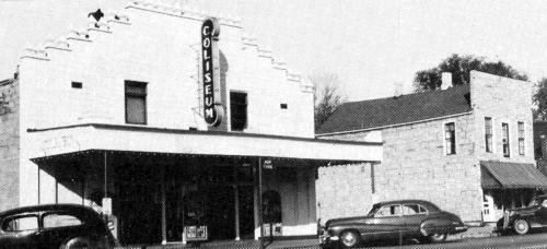 COLISEUM Theatre; Edmore, Michigan.