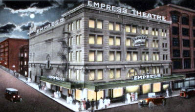 EMPRESS (ORPHEUM) Theatre; Portland, Oregon.