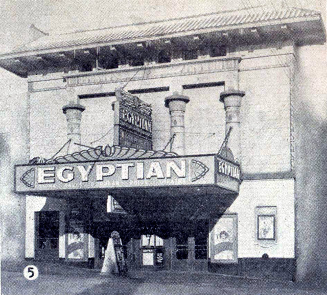 EGYPTIAN Theatre; Sioux Falls, South Dakota.