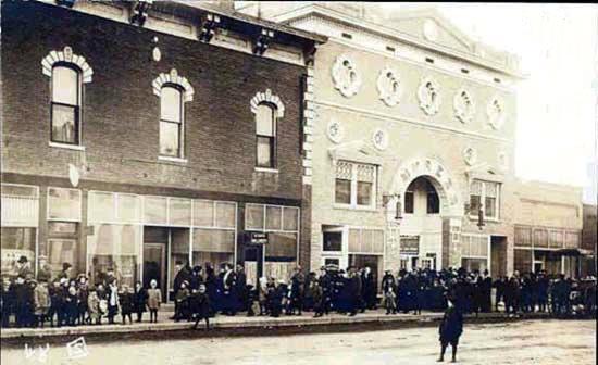 EMPRESS (later FOX) Theatre; Laramie, Wyoming.