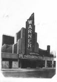 Warner Movie theater as it looked when it was just completed