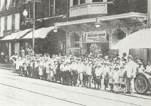 Pastime Theatre, Maysville, Kentucky, 1922