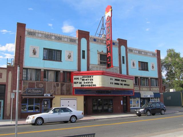 Oriental Theater  Denver CO  7-28-13