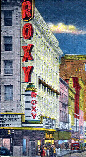 PANTAGES (ROXY) Theatre; Tacoma, Washington.