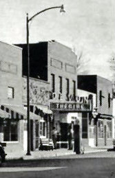 DEVON Theatre; Francesville, Indiana.