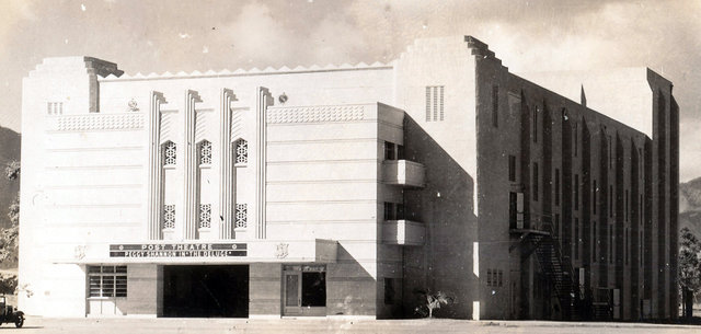 SERGEANT SMITH THEATER; Wahaiwa, Schofield Barracks, Hawaii.