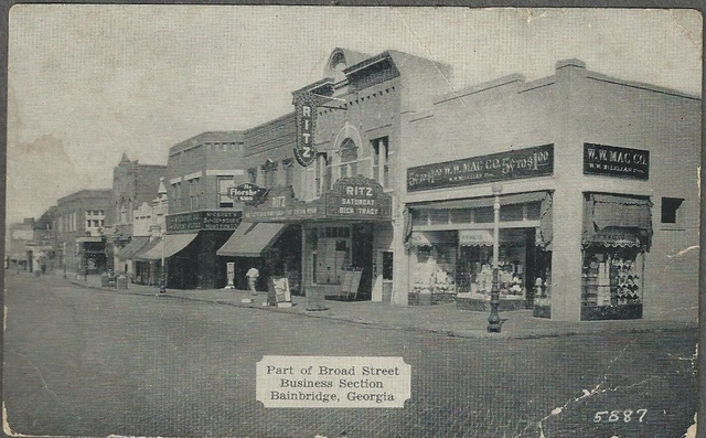 Ritz Theatre, Bainbridge GA