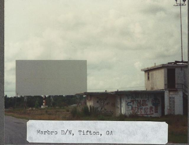 Marbro (aka Hi-way 92) Drive In, Tifton, Georgia