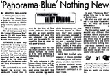 "Tyrone Theatre, St. Petersburg, FL, Review of X-Rated ""Panorama Blue"""