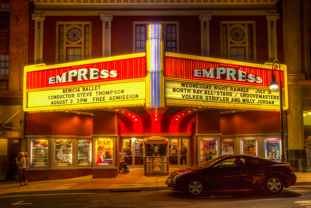 Empress at Night