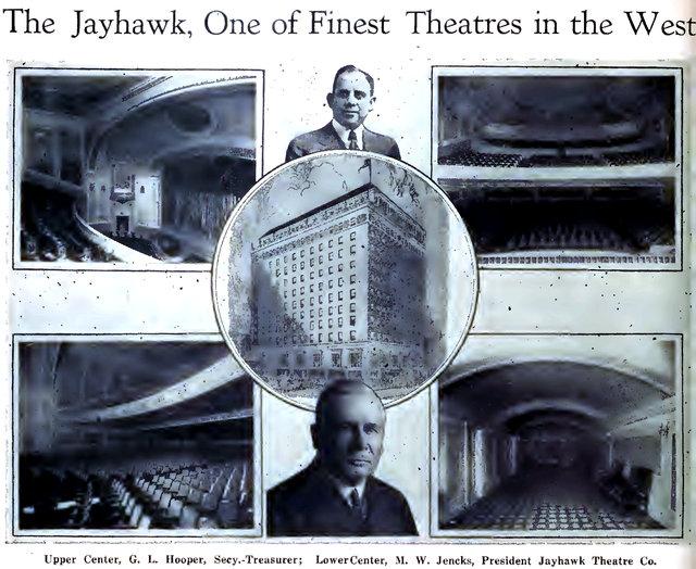 JAYHAWK Theatre; Topeka, Kansas.
