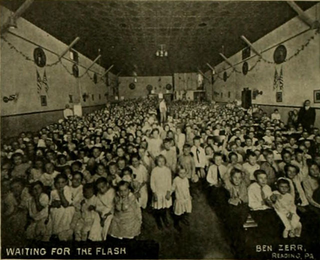 Auditorium, Schuylkil Theatre, Reading, PA, 1913