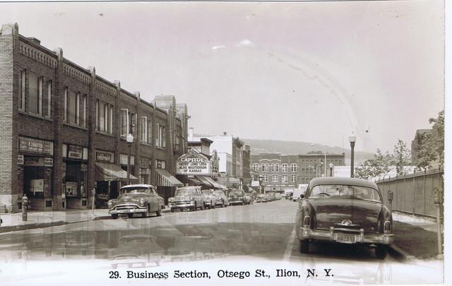 Capitol Theatre, Ilion, NY 1950's