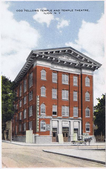 Odd Fellows Temple and Temple Theatre, Morgan St, Ilion, NY
