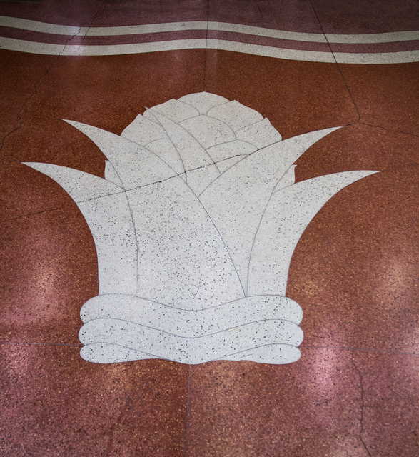 Detail from Marble Entryway