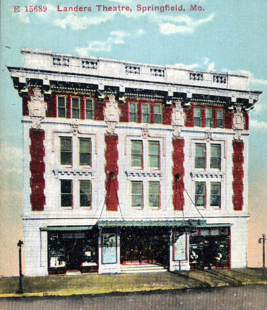 LANDERS (SPRINGFIELD LITTLE) Theatre; Springfield, Missouri.