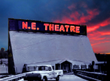 NORTHEAST EXPRESSWAY DRIVE-IN by Cliff Carson