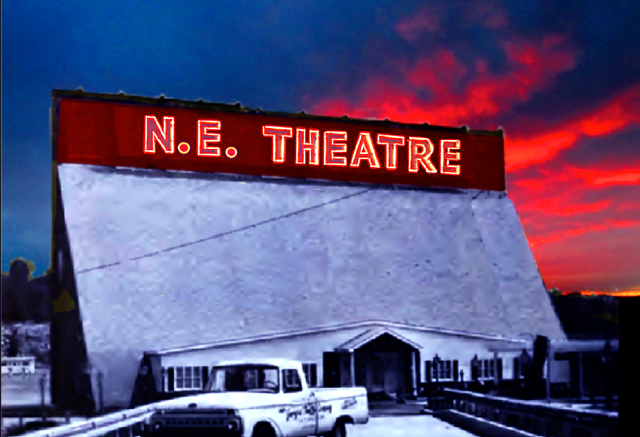 NORTHEAST EXPRESSWAY DRIVE-IN THEATRE by Cliff Carson