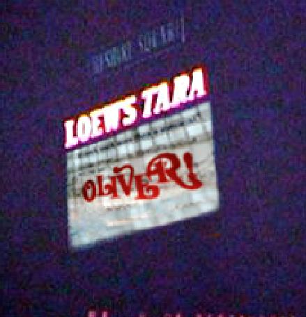 Carol Reeds OLIVER! at the LOEW'S TARA theatre in Atlanta Georgia