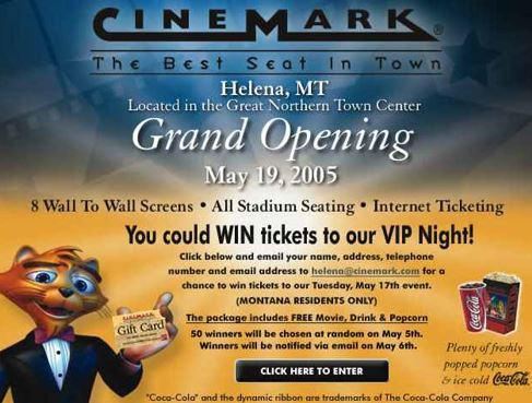 Cinemark Helena & XD