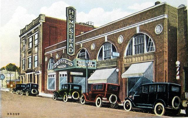 HEMPSTEAD Theatre; Hempstead, New York.
