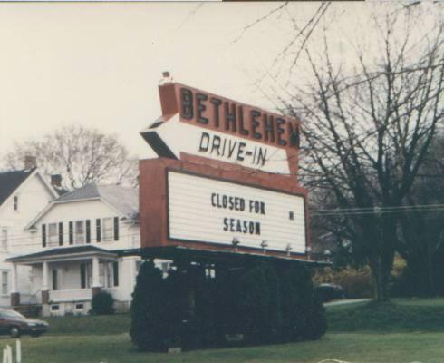 Bethelehem Drive-in sign
