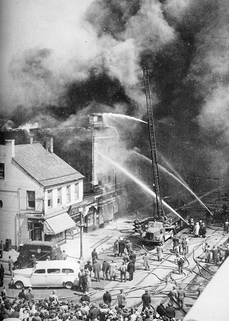 Rialto Theater Fire, 10 April 1946